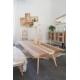 Table élégante et originale dans un intérieur style scandinave
