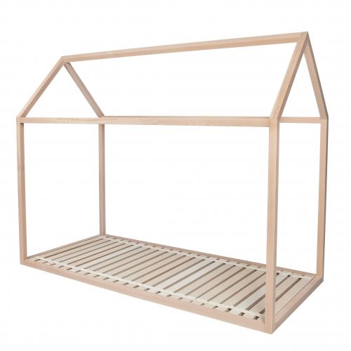 Lit cabane en bois design pour enfant