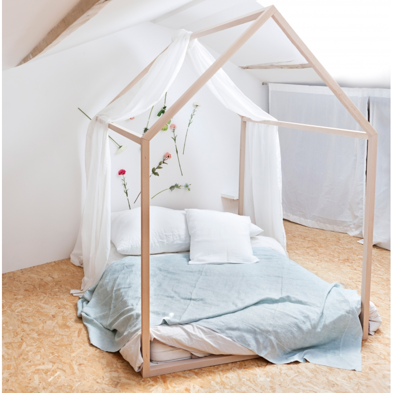 lit cabane dreamer pour enfant structure en bois de h tre par blomkal. Black Bedroom Furniture Sets. Home Design Ideas