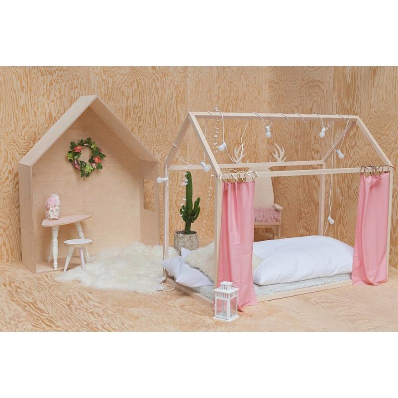 lit cabane dreamer pour enfant structure en bois de h tre par blomkal. Black Bedroom Furniture Sets. Home Design Ideas