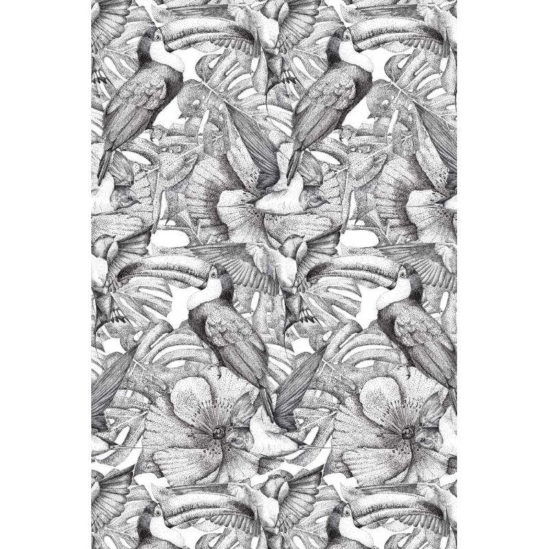 Papier Peint Tendance Nature Toucan Par Mr Naturaliste Pour Blomkal