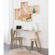 Table avec pieds modulables made in France Blomkal