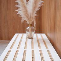 Petit banc en cannage #blomkal#wood#instadeco#design#furnituredesign#furniture#mobilier#cannage#rotin#madeinfrance#scandinavehome