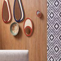 Nos nouveaux coloris de miroir et notre nouveau papier peint ethnique ✌🏻 #wallpaper#blomkal#design#cannage#furnituredesign#instadeco#wood#architectedinterieur#miroir#ethnique#designscandinave#instadeco