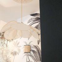 Ne pas se lasser de ce luminaire si poétique #blomkal#light#furniture#design#scandinavehome#architecte#architectedinterieur#luminaire#wallpaper